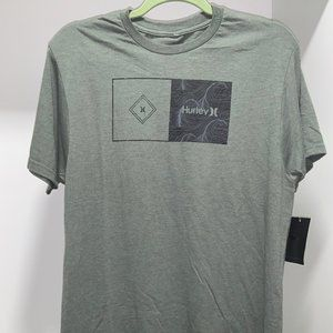 Hurley Green T Shirt